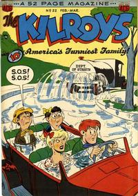 Cover Thumbnail for The Kilroys (American Comics Group, 1947 series) #22