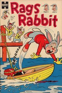 Cover Thumbnail for Rags Rabbit (Harvey, 1951 series) #18