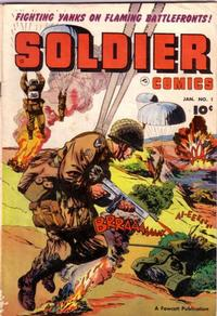 Cover Thumbnail for Soldier Comics (Fawcett, 1952 series) #1