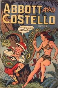 Cover Thumbnail for Abbott and Costello Comics (St. John, 1948 series) #2