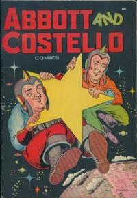 Cover Thumbnail for Abbott and Costello Comics (St. John, 1948 series) #3