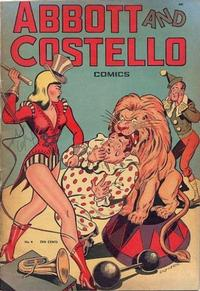 Cover Thumbnail for Abbott and Costello Comics (St. John, 1948 series) #4