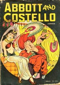 Cover Thumbnail for Abbott and Costello Comics (St. John, 1948 series) #6
