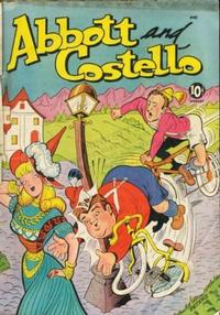 Cover Thumbnail for Abbott and Costello Comics (St. John, 1948 series) #10