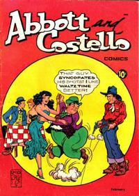 Cover Thumbnail for Abbott and Costello Comics (St. John, 1948 series) #12