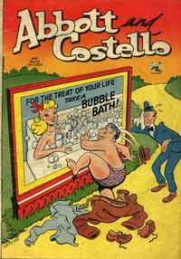 Cover Thumbnail for Abbott and Costello Comics (St. John, 1948 series) #15