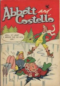 Cover Thumbnail for Abbott and Costello Comics (St. John, 1948 series) #17