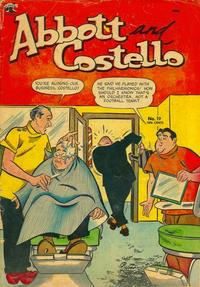 Cover Thumbnail for Abbott and Costello Comics (St. John, 1948 series) #19