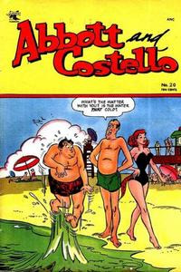 Cover Thumbnail for Abbott and Costello Comics (St. John, 1948 series) #20