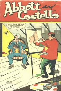 Cover Thumbnail for Abbott and Costello Comics (St. John, 1948 series) #21