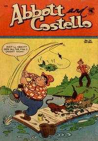 Cover Thumbnail for Abbott and Costello Comics (St. John, 1948 series) #24