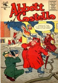 Cover Thumbnail for Abbott and Costello Comics (St. John, 1948 series) #33