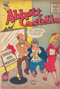 Cover Thumbnail for Abbott and Costello Comics (St. John, 1948 series) #35