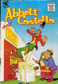 Cover Thumbnail for Abbott and Costello Comics (St. John, 1948 series) #37