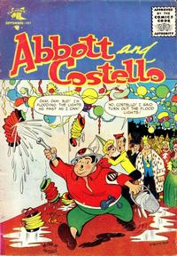 Cover Thumbnail for Abbott and Costello Comics (St. John, 1948 series) #40