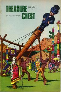 Cover Thumbnail for Treasure Chest of Fun and Fact (George A. Pflaum, 1946 series) #v23#4 [430]