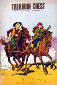 Cover Thumbnail for Treasure Chest of Fun and Fact (George A. Pflaum, 1946 series) #v23#12 [438]