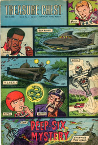 Cover Thumbnail for Treasure Chest of Fun and Fact (George A. Pflaum, 1946 series) #v24#1 [447]