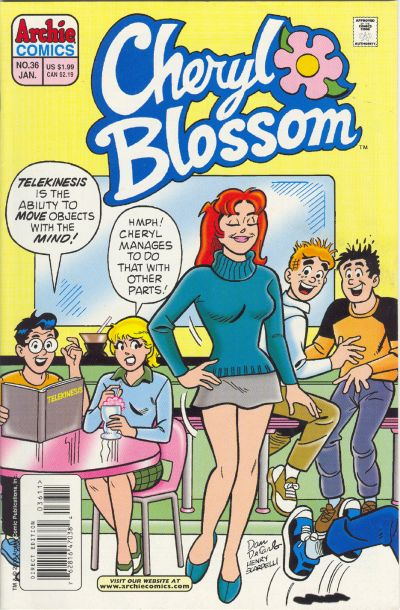 Cover for Cheryl Blossom (Archie, 1997 series) #36