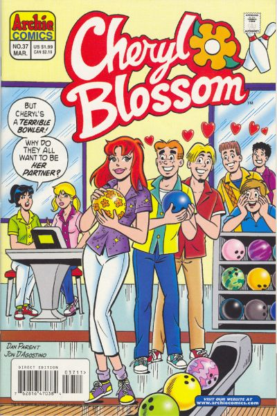 Cover for Cheryl Blossom (Archie, 1997 series) #37