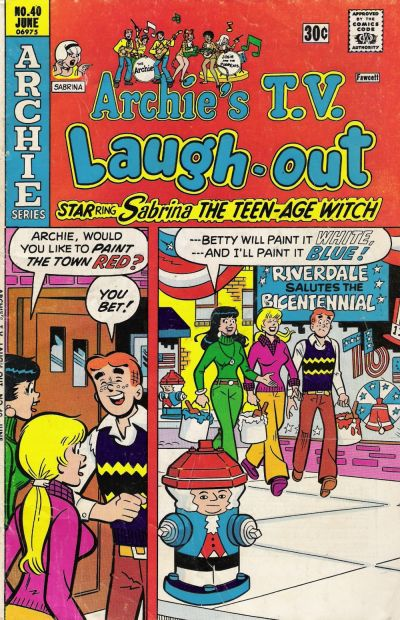 Cover for Archie's TV Laugh-Out (Archie, 1969 series) #40