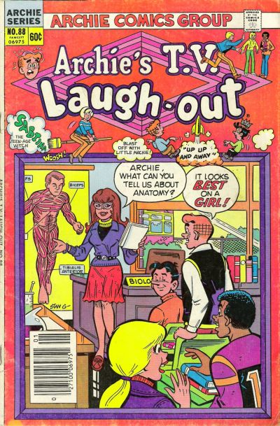 Cover for Archie's TV Laugh-Out (Archie, 1969 series) #88