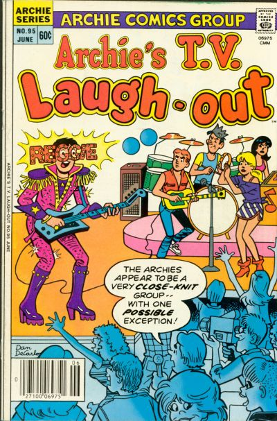 Cover for Archie's TV Laugh-Out (Archie, 1969 series) #95