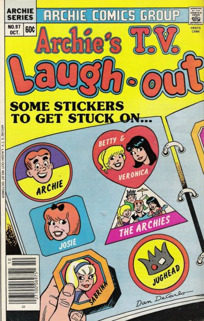 Cover for Archie's TV Laugh-Out (Archie, 1969 series) #97