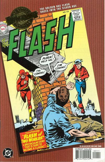 Cover for Millennium Edition: The Flash Vol. 1, #123 (DC, 2000 series)