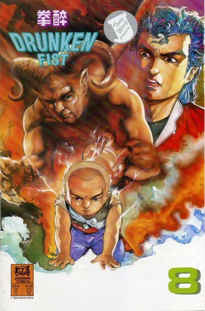 Cover for Drunken Fist (Jademan Comics, 1988 series) #8