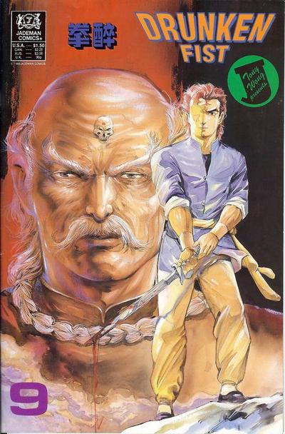 Cover for Drunken Fist (Jademan Comics, 1988 series) #9