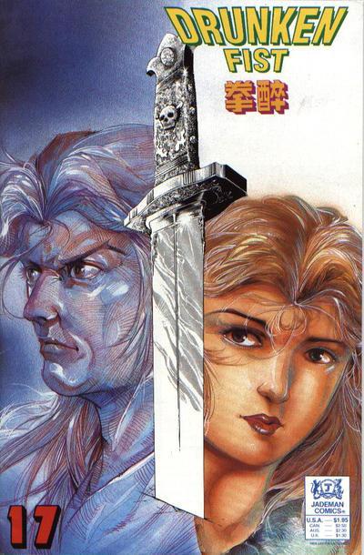 Cover for Drunken Fist (Jademan Comics, 1988 series) #17
