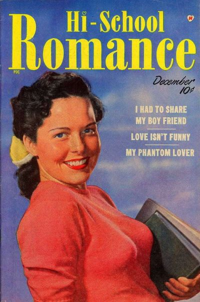 Cover for Hi-School Romance (Harvey, 1949 series) #2