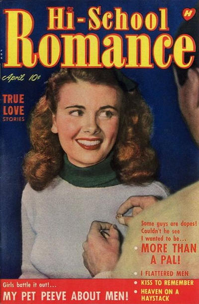 Cover for Hi-School Romance (Harvey, 1949 series) #4