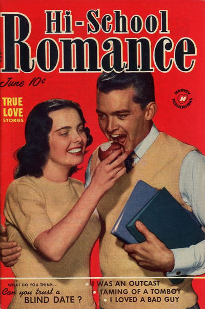 Cover for Hi-School Romance (Harvey, 1949 series) #5