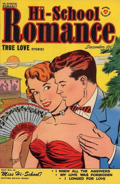 Cover for Hi-School Romance (Harvey, 1949 series) #6