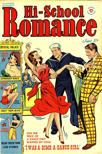 Cover for Hi-School Romance (Harvey, 1949 series) #9