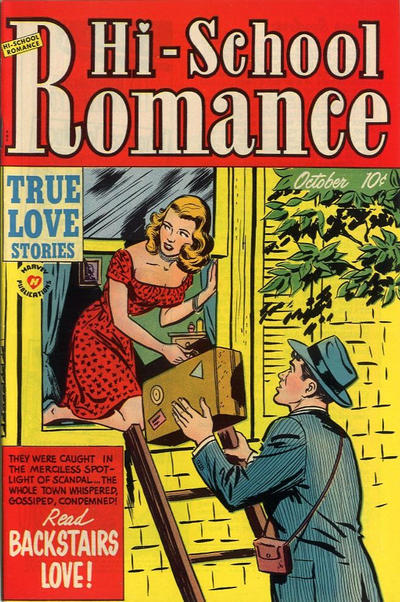 Cover for Hi-School Romance (Harvey, 1949 series) #11