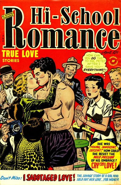 Cover for Hi-School Romance (Harvey, 1949 series) #14
