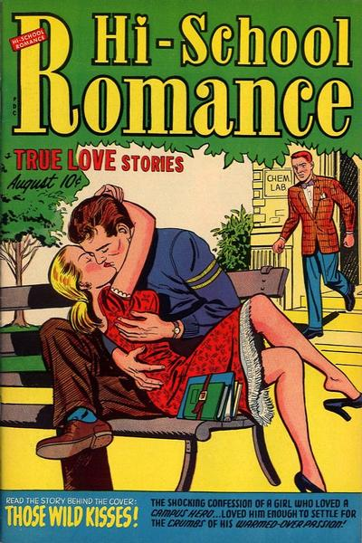 Cover for Hi-School Romance (Harvey, 1949 series) #16
