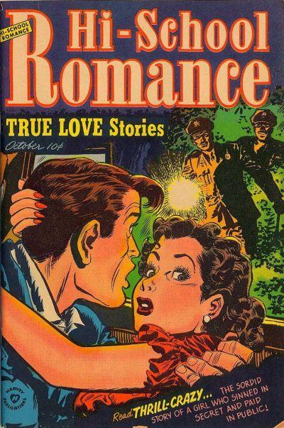 Cover for Hi-School Romance (Harvey, 1949 series) #17