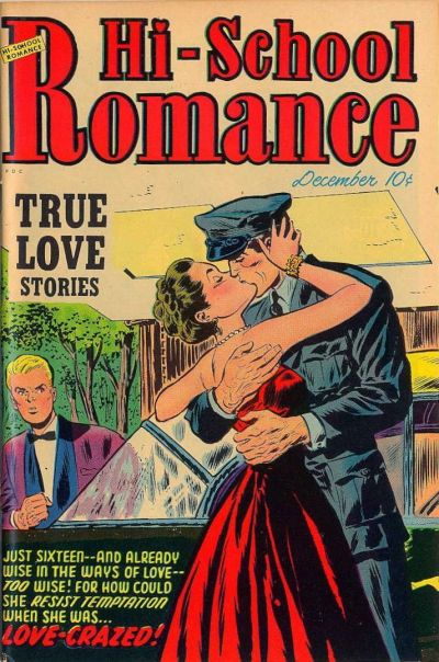 Cover for Hi-School Romance (Harvey, 1949 series) #18