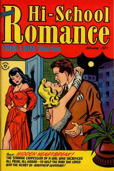 Cover for Hi-School Romance (Harvey, 1949 series) #19