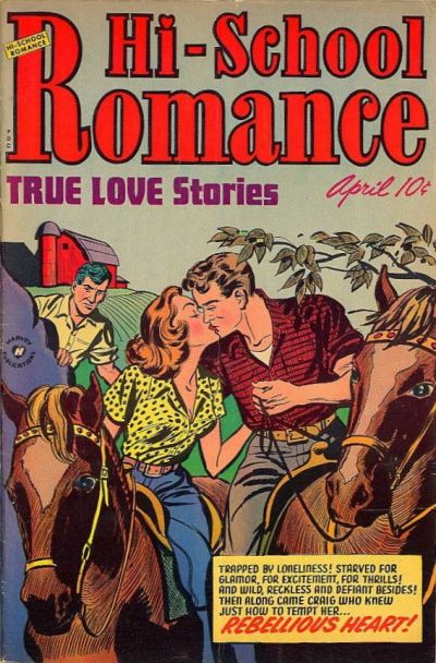 Cover for Hi-School Romance (Harvey, 1949 series) #20