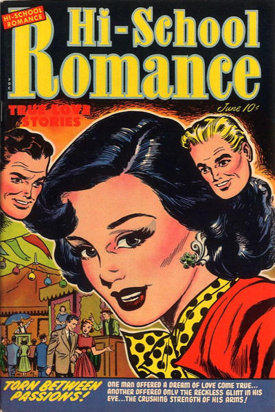 Cover for Hi-School Romance (Harvey, 1949 series) #21