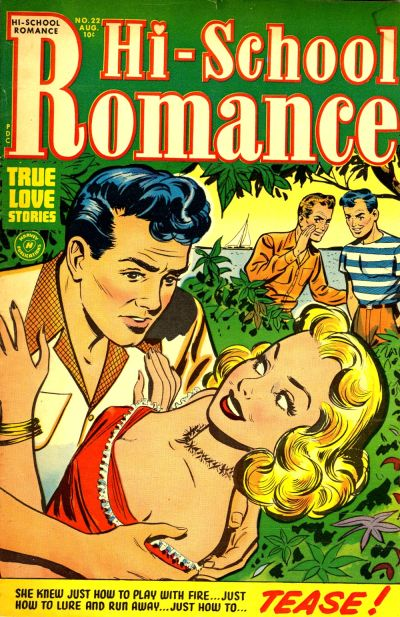 Cover for Hi-School Romance (Harvey, 1949 series) #22