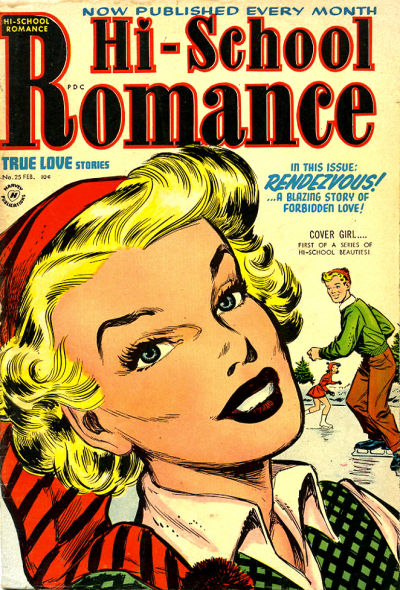 Cover for Hi-School Romance (Harvey, 1949 series) #25
