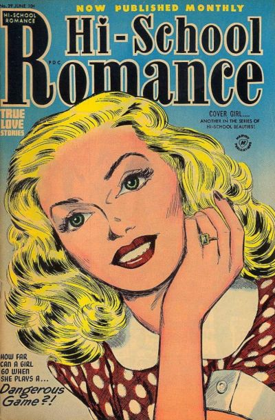 Cover for Hi-School Romance (Harvey, 1949 series) #29