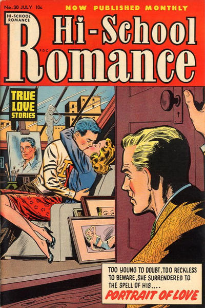 Cover for Hi-School Romance (Harvey, 1949 series) #30