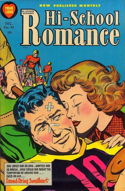 Cover for Hi-School Romance (Harvey, 1949 series) #34